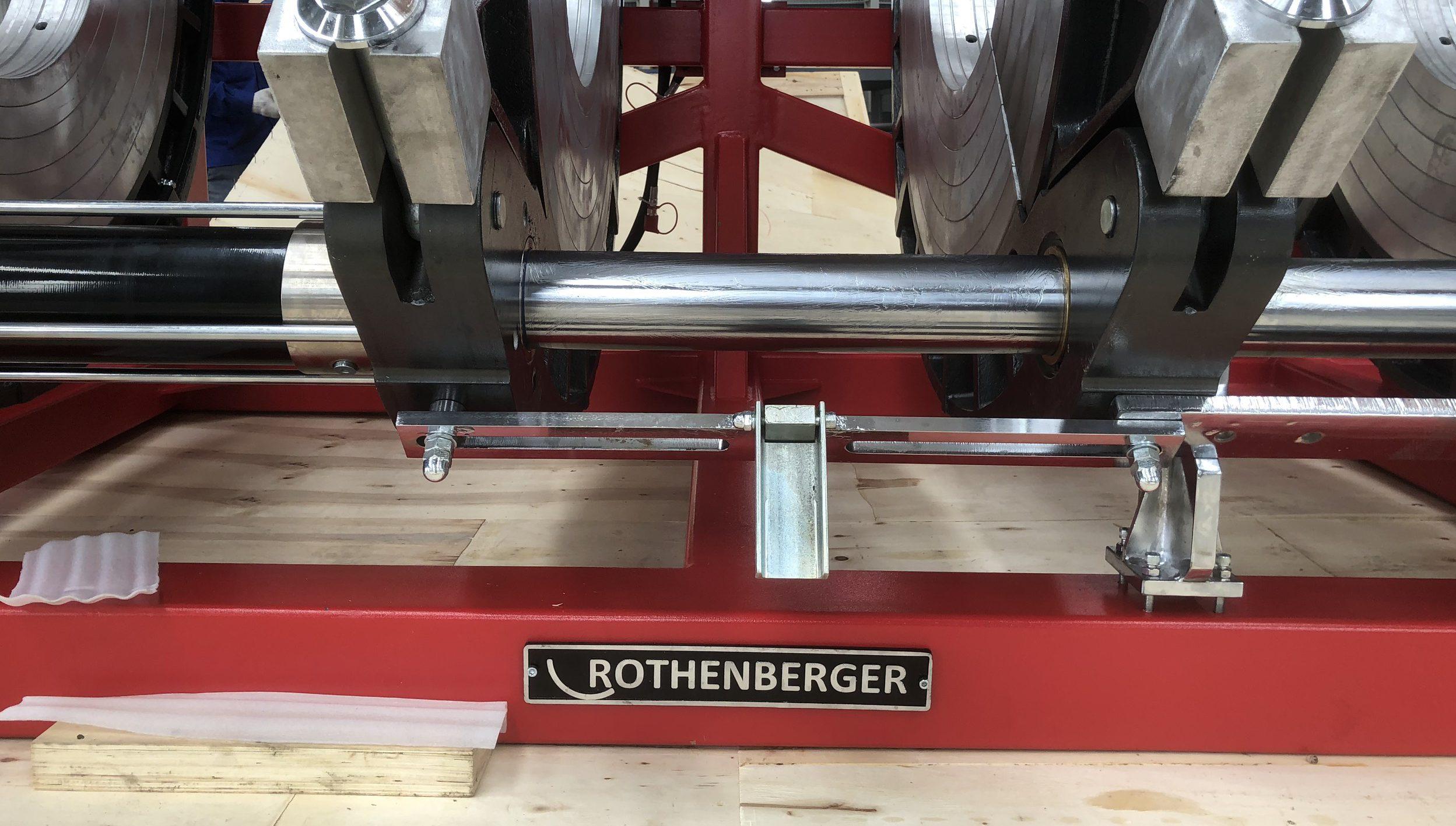 khung máy hàn Rothenberger