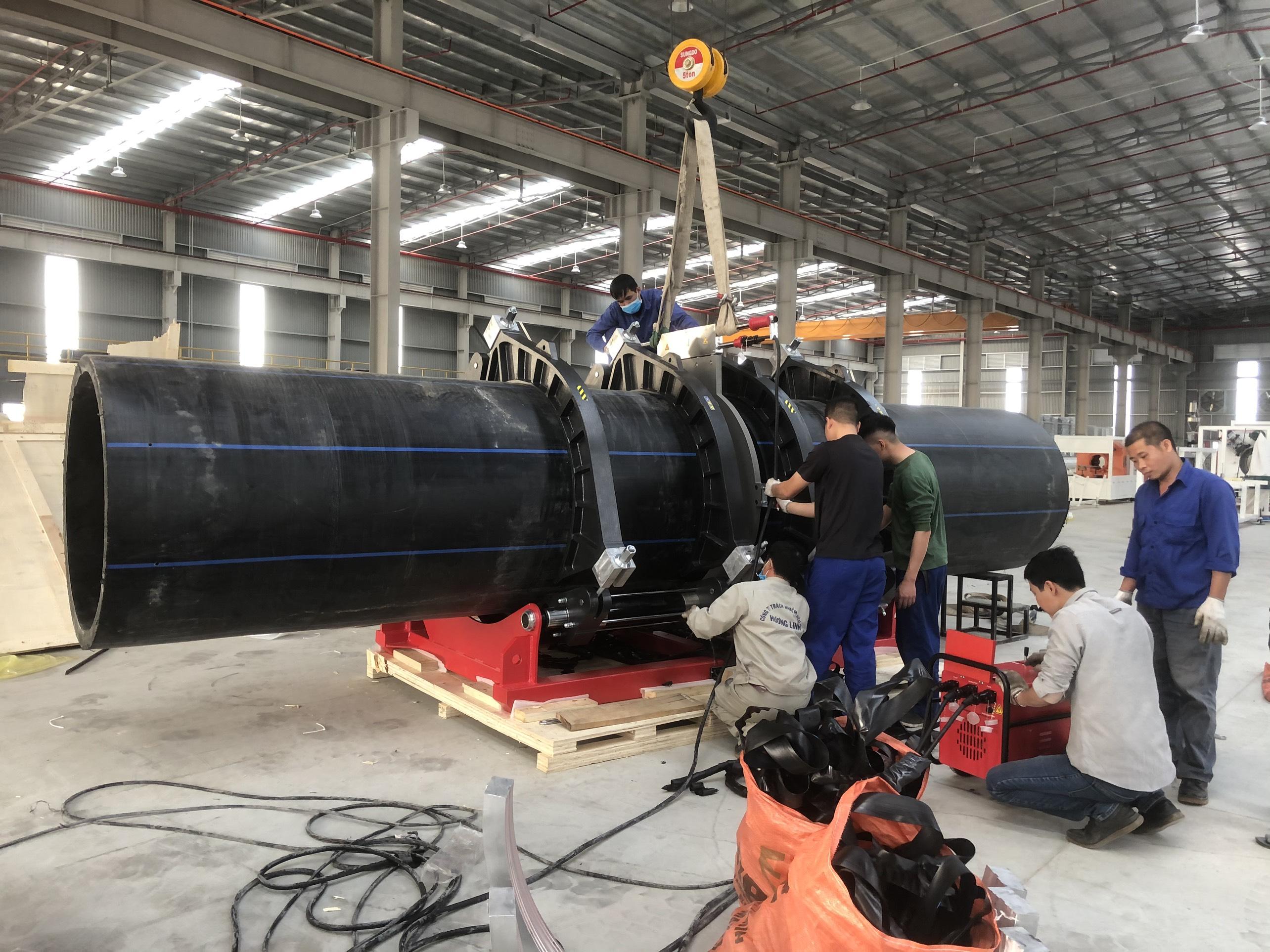 hàn ống hdpe phi 1200